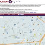 Houston Bike Share Program Expansion Map